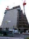豊島区役所 新庁舎建設現場(2013年8月末)